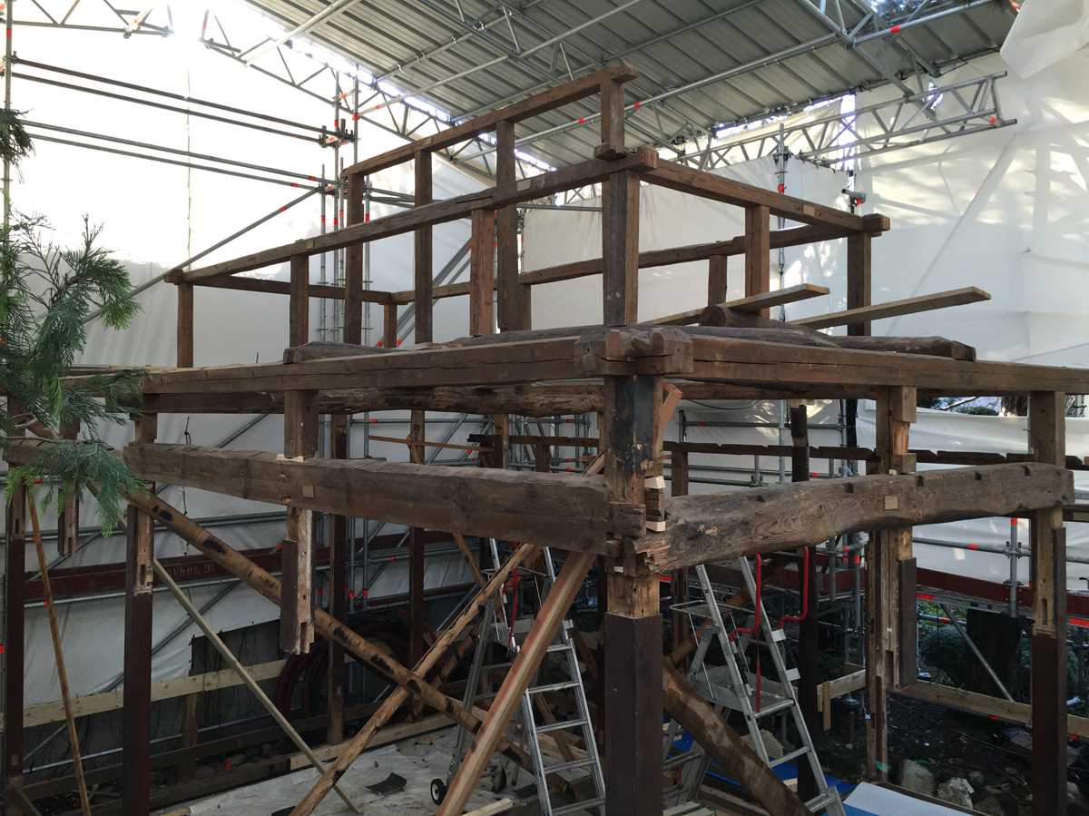 Maison Japonaise Traditionnelle Construire albert kahn pavillons japonais