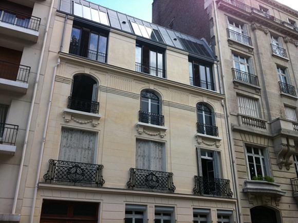 Extension R+3 Paris