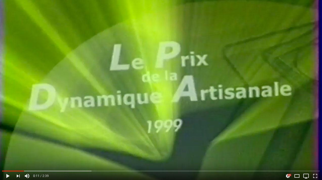 Prix Dynamique artisanale 1999